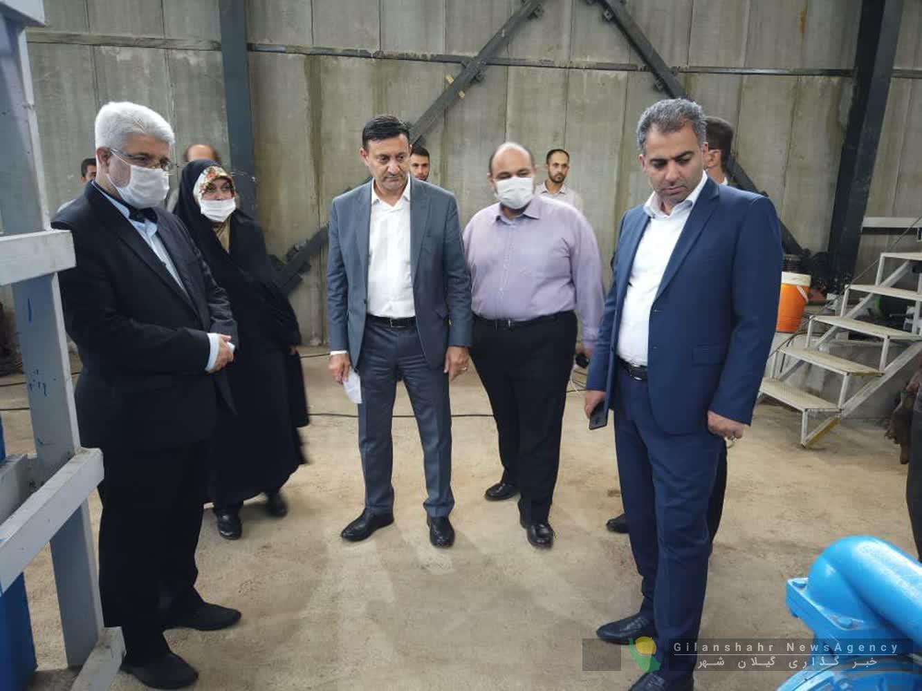 گزارش تصویری بازدید چهار تن از اعضای شورای اسلامی شهر رشت به همراه دکتر ناصر حاج محمدی از دفنگاه زباله های سراوان و تاسیسات تصفیه خانه شیرابه