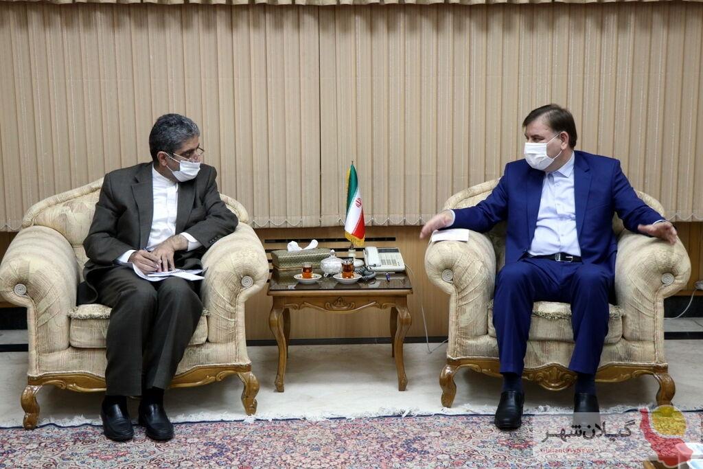 سفیر ایران : گیلان از استانهای پویا در ارتباط با گرجستان است