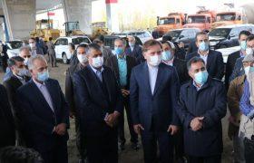 گزارش تصویری از بازدید وزیر راه و شهرسازی و استاندار گیلان