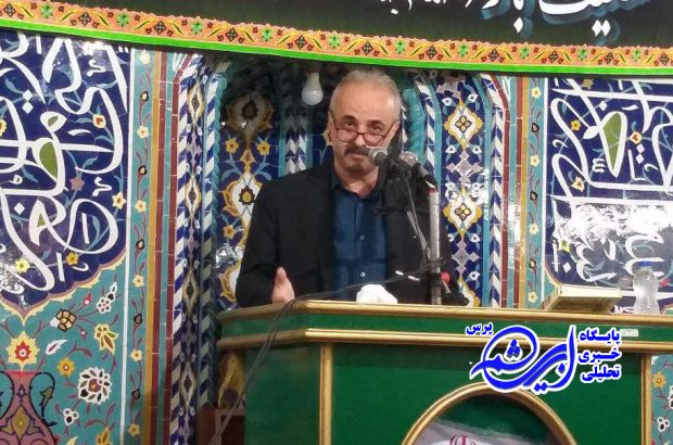 رحمانی در سخنان پیش از خطبه نماز جمعه لاهیجان : مردم تصور میکنند قانون فقط برای ضعیف هاست