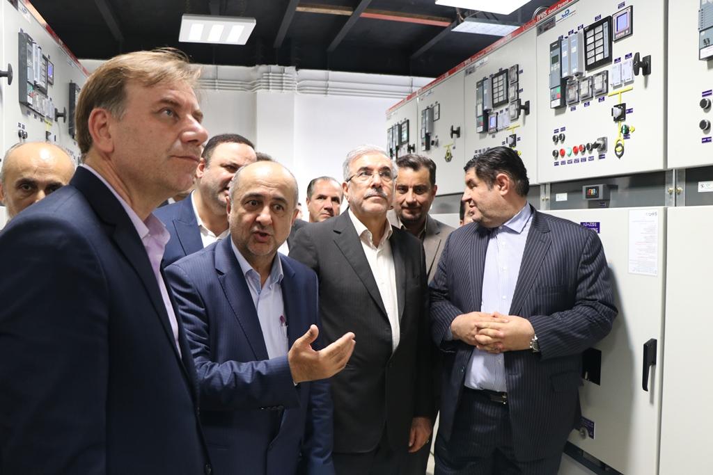 افتتاح نیروگاه ۲۵ مگاواتی تولید برق در منطقه آزاد انزلی