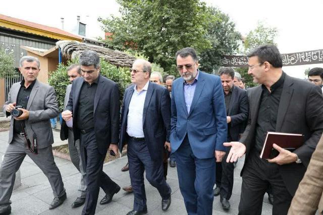 گزارش تصویری نشست شهردار و اعضای شورای شهر رشت با معاون وزریر راه و شهرسازی