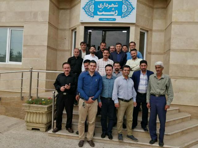 سرکشی و بازدید ناصر حاج محمدی  از  نواحی پانزده گانه  شهرداری رشت