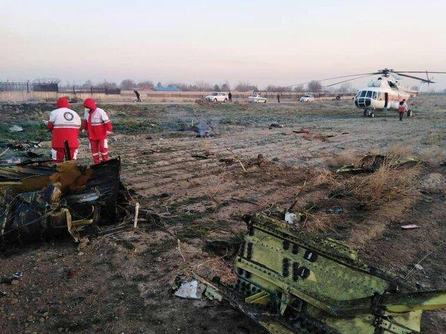 سقوط هواپیمای اوکراینی در ایران | احتمال زندهبودن سرنشینان وجود ندارد