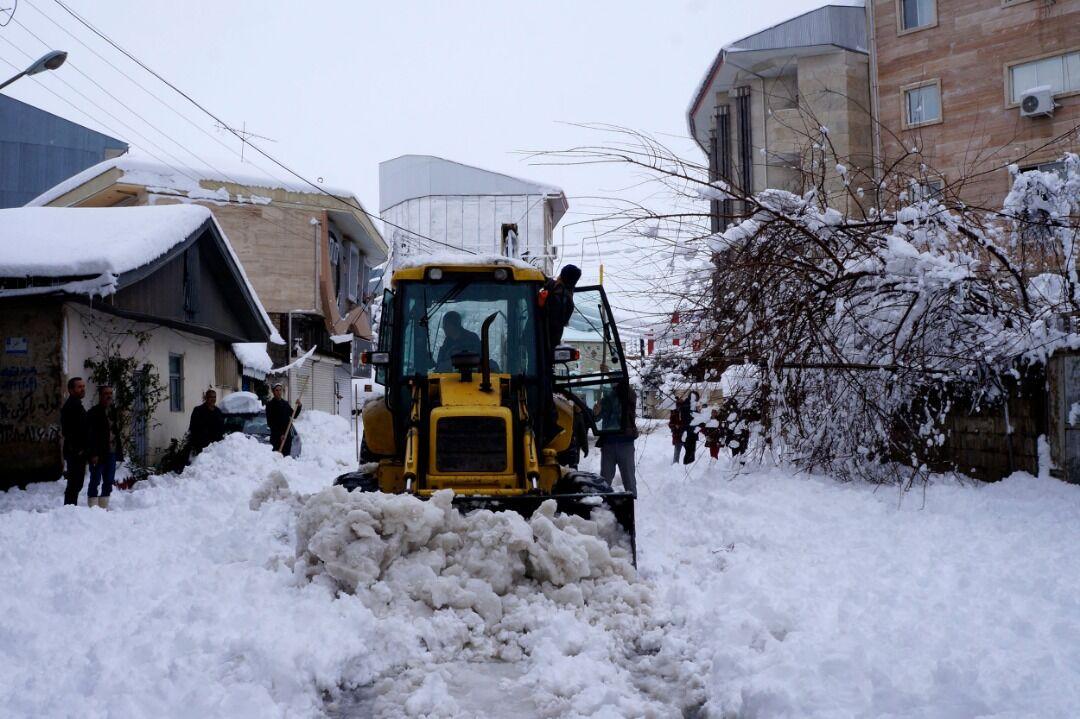 ظرفیت ها و امکانات گیلان در جدال با برف زمستانی