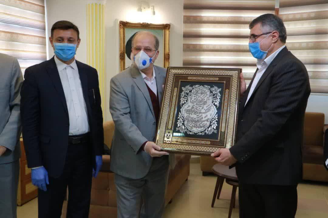 دیدار رئیس شورا و شهردار رشت با مدیر کل آموزش و پرورش گیلان