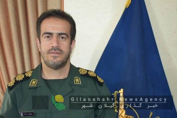 جهانبخش آرمان فرمانده جدید سپاه صومعه سرا  شد.