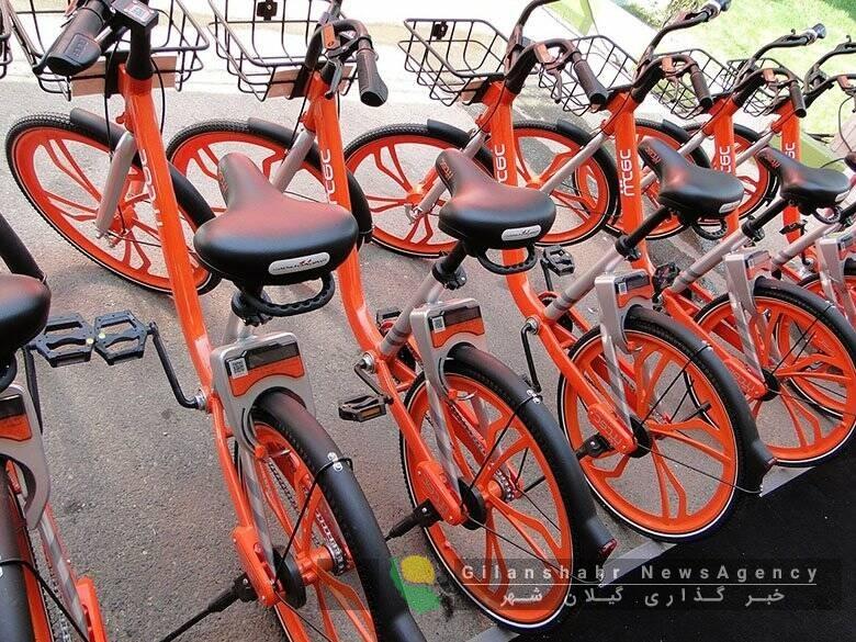 ۵۰۰ دوچرخه در فاز نخست حمل و نقل رشت