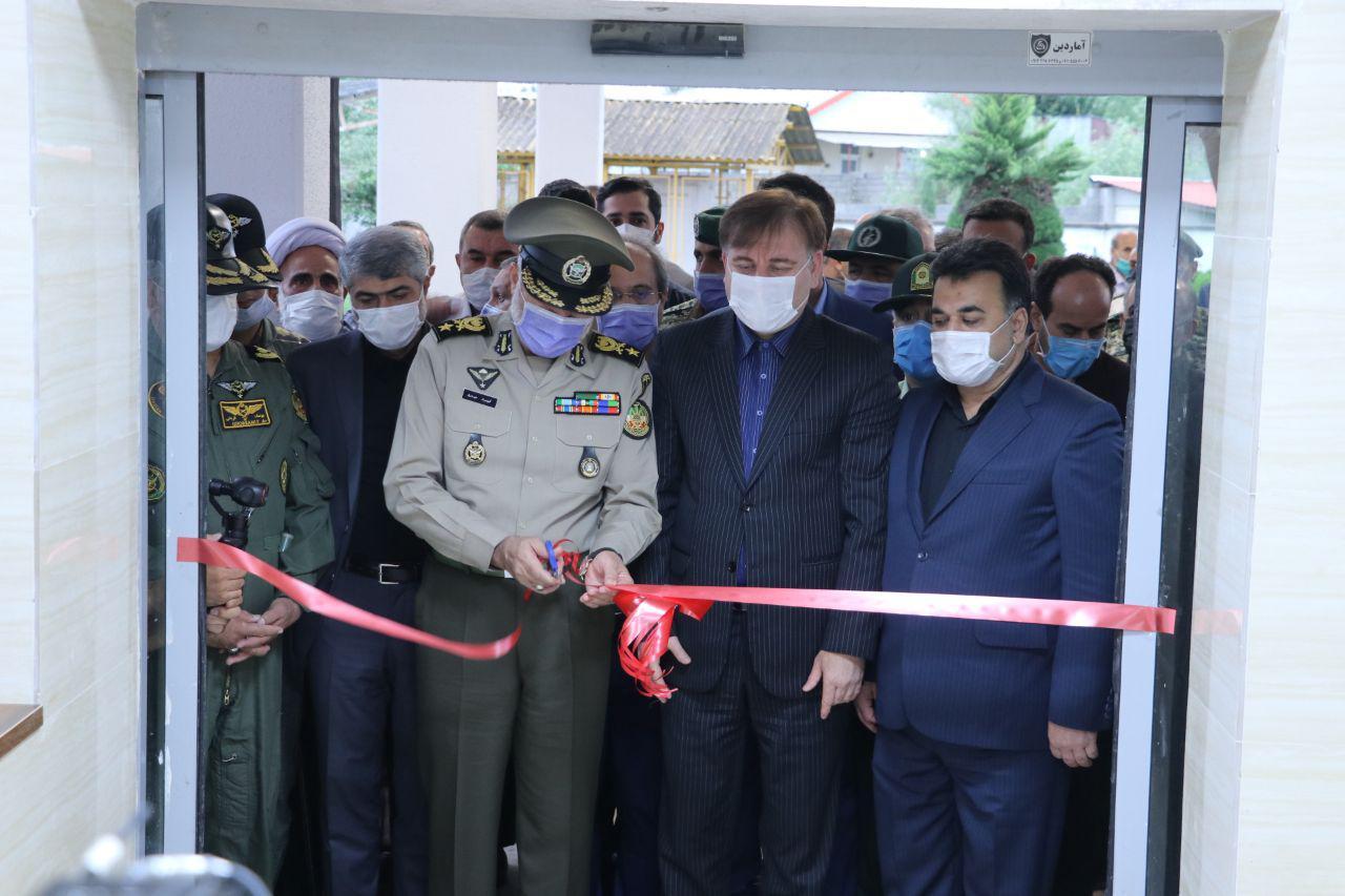 فرمانده نیروی زمینی ارتش طرح توسعه بیمارستان فومن گیلان را افتتاح کرد+عکس