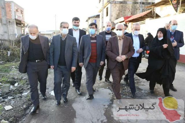 تخصیص اعتبارات ویژه برای بازآفرینی محله خواهر امام رشت / تالاب عینک