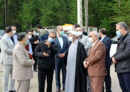 بازدید شهردار رشت، مدیرکل دادگستری و دادستان گیلان از لندفیل و تصفیه خانه شیرابه سراوان