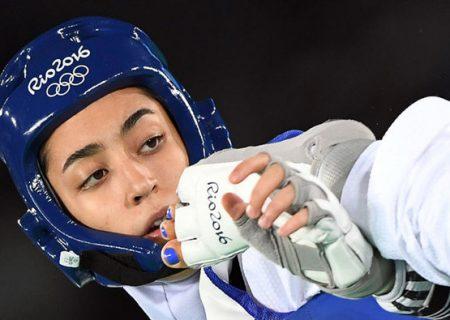 حذف کیمیا علیزاده از رقابت های قهرمانی اروپا