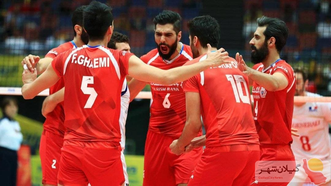 برنامه تیم ملی والیبال ایران در لیگ ملتها