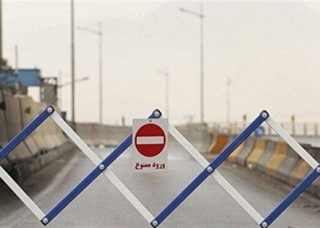 ممنوعیت سفر به شهرهای قرمز و نارنجی کرونایی